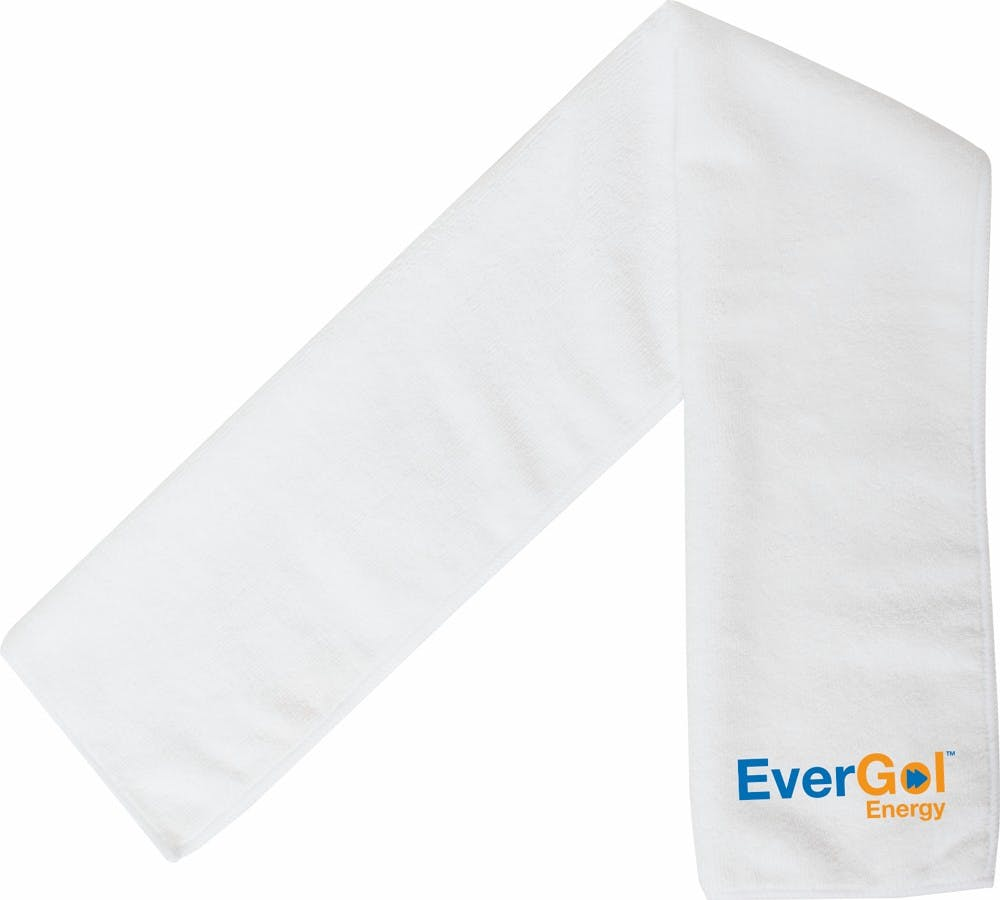 Cooling Towel (Item # BFKOR-JZDPY) Towel sold by InkEasy