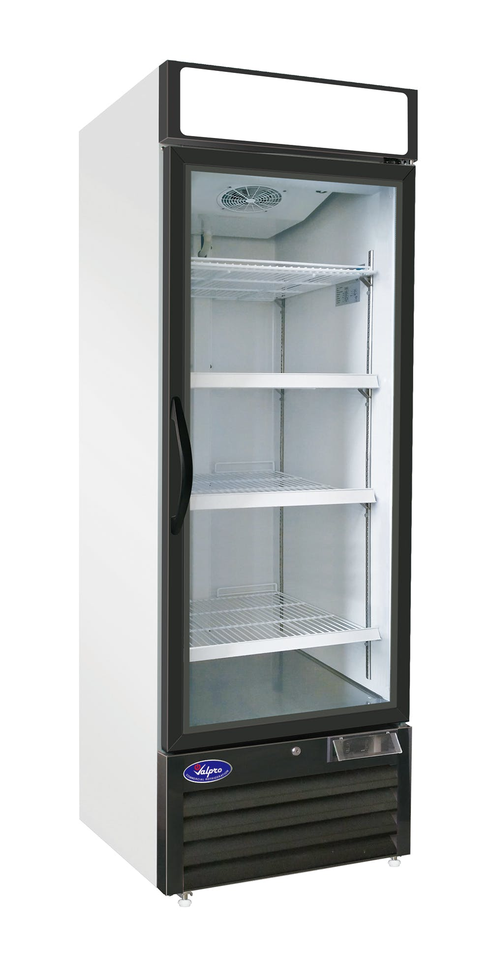 Valpro VP1R-23 - One Swing Glass Door - 23 cu. ft. Refrigerator