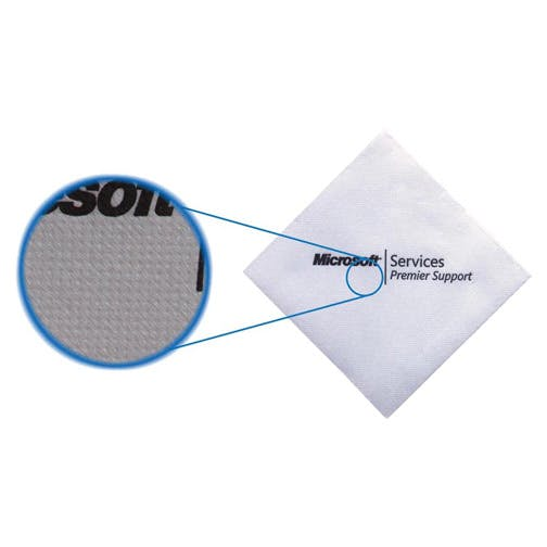 Napkins, Lasting Impressions CollectionTOL-5BN, White Beverage Napkin sold by Distrimatics, USA
