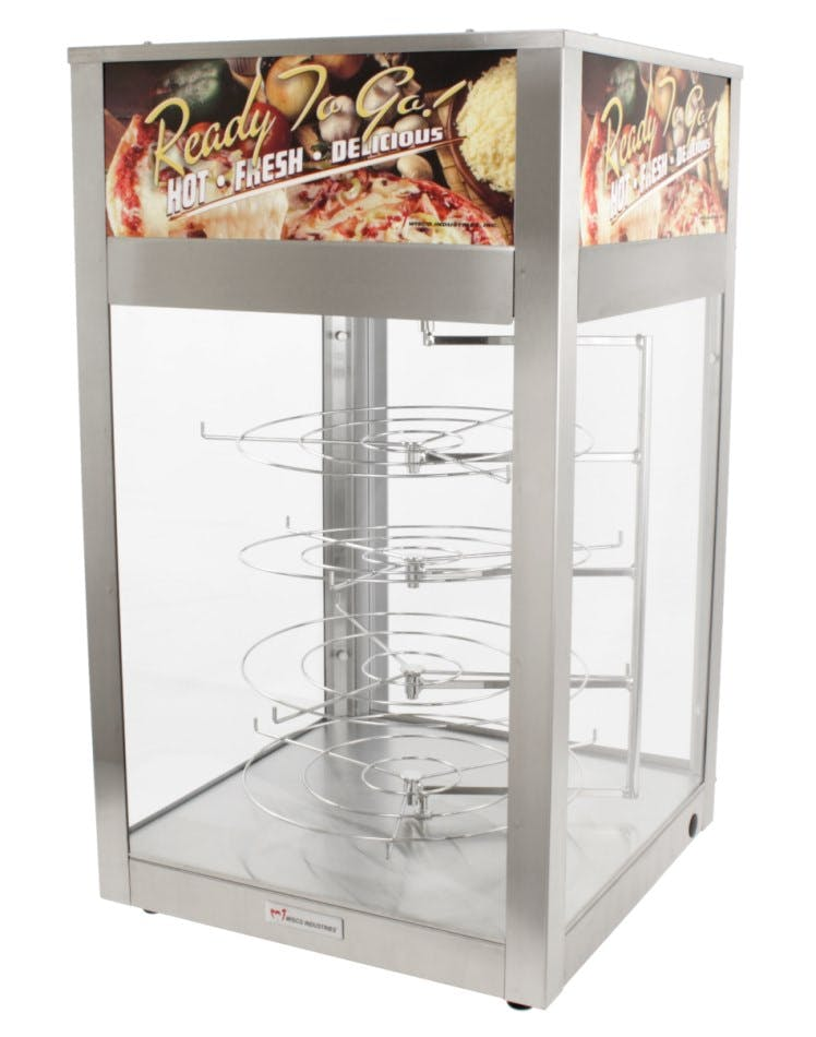 Wisco 695 Warmer / Merchandiser Pizza warmer sold by pizzaovens.com