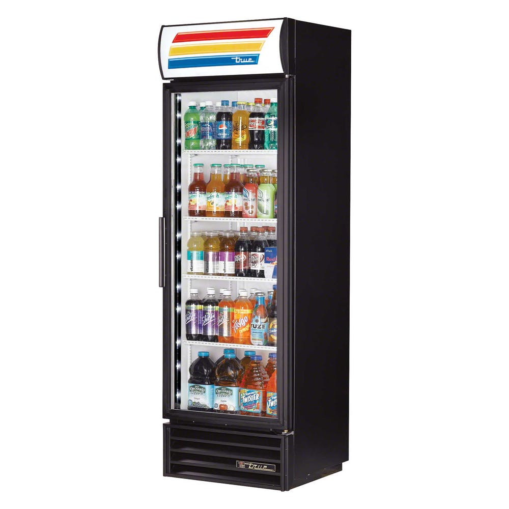 True Tvm 400 Ld 25 Swing Glass Door Merchandiser Refrigerator Led