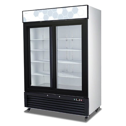 C-49RS Sliding Glass Door Migali Refrigerator Commercial refrigerator sold by Pizza Solutions