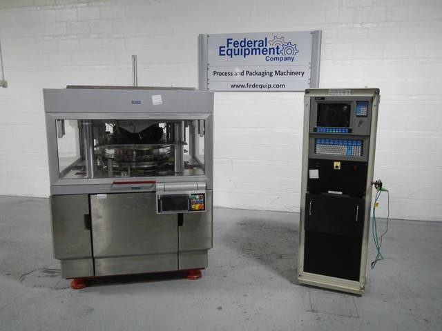 55 STATION ELITE 800 MANESTY TABLET PRESS Tablet press sold by FEDERAL EQUIPMENT CO.