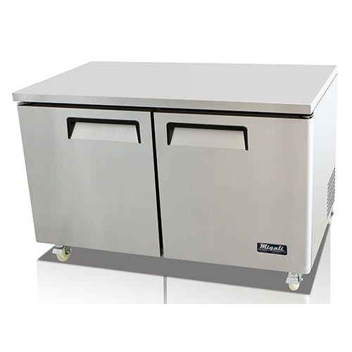 Migali C-U60F Migali Two Door Freezer Commercial freezer sold by Pizza Solutions