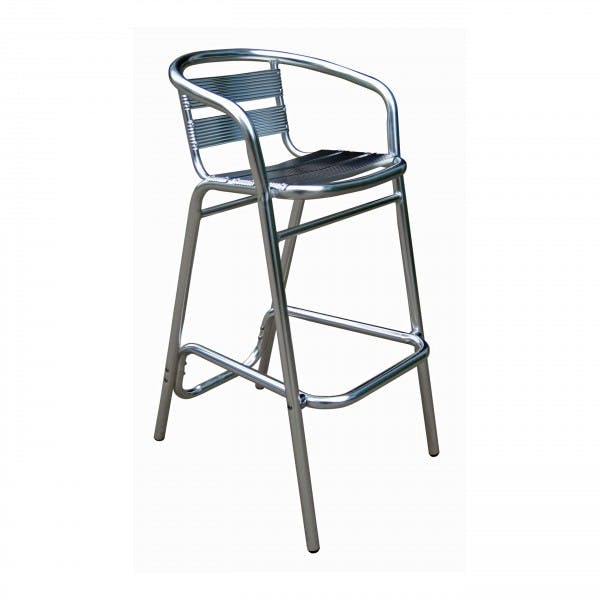 Anodized Aluminum Outdoor Bar Stool
