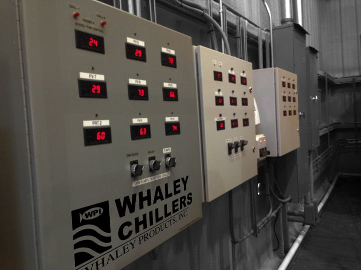 Tank Temperature Control  Glycol chiller sold by Whaley Products, Inc.