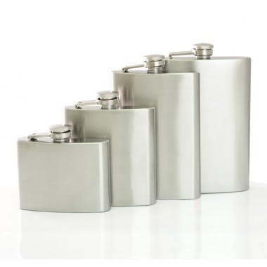 Stainless Flask  Flask sold by BarProducts.com
