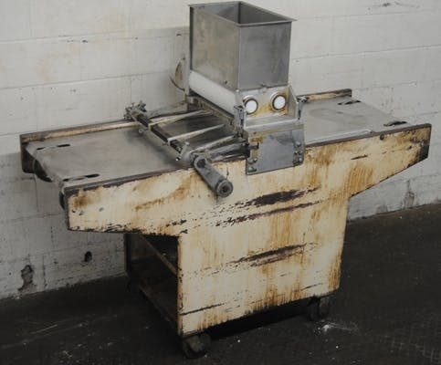 "Champion Model 65 18"" wire cut depositor"