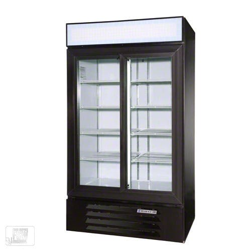 """Beverage Air - LV38-1 44"""" Glass Door Merchandiser Commercial refrigerator sold by Food Service Warehouse"""