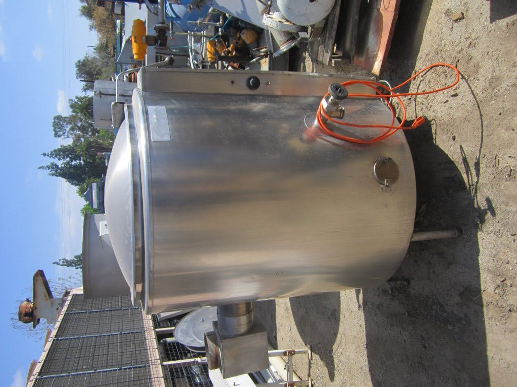 Kettle, 60 Gallon, S/st, Jkt, Groen, Mdl AH-60, Gas Bagel kettle and boiler sold by Machinery & Equipment Co