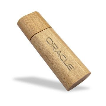Eco Friendly Rectangle Bamboo USB Flash Drive (Item # EAKIU-KBSHD) Recycled and Eco Friendly Promotional Item sold by InkEasy