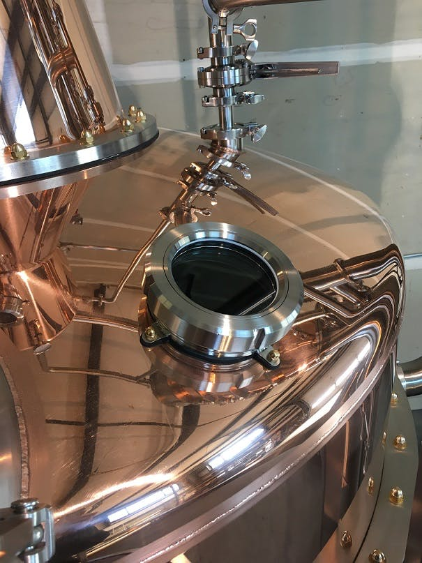 Pot Stills, Single Batch and Continuous - sold by Bridgetown Brew Systems llc.