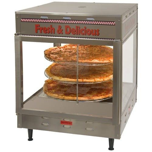 Benchmark USA 51012 Display Warmer, 33 x 22 x 19, 120V Pizza warmer sold by Mission Restaurant Supply