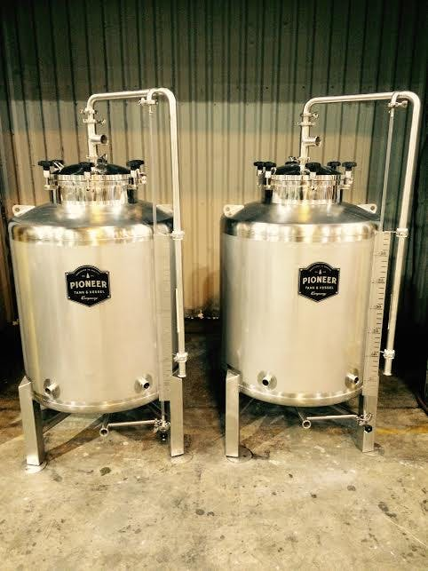 5 BBL BRITE TANKS Bright tank sold by Pioneer Tank and Vessel