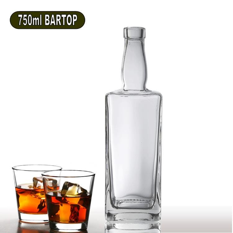 750ml Davis Liquor Bottle Liquor bottle sold by Wholesale Bottles USA
