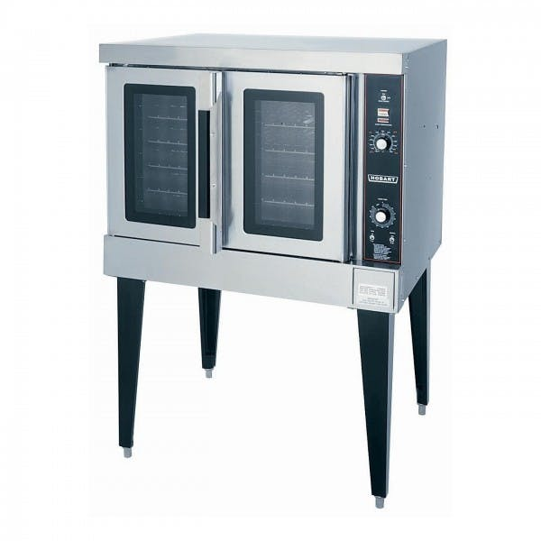 Full Size Stainless NG Convection Oven w/ 2 Glass Doors