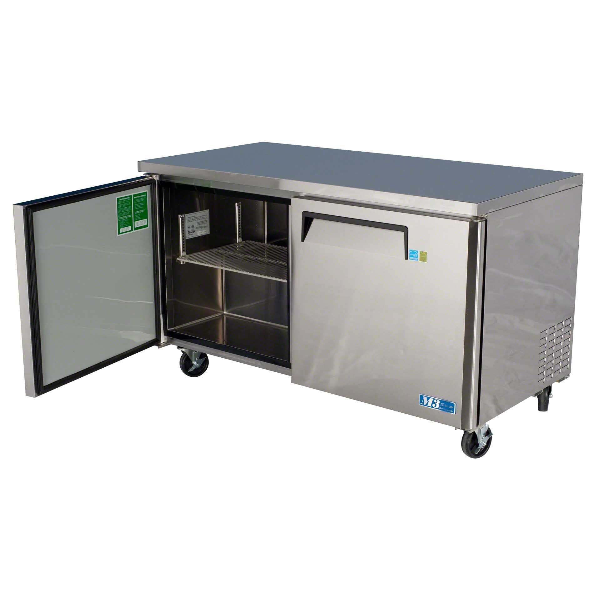 """Turbo Air - MUR-60 60"""" Undercounter Refrigerator – M3 Series Commercial refrigerator sold by Food Service Warehouse"""