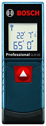 Bosch GLM 20 Compact Laser Measure with Backlit Display, 65' - sold by Meilestone