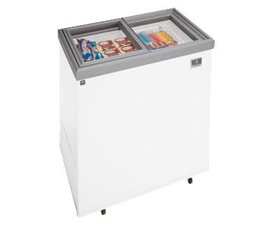 Kelvinator KCNF070QW Ice Cream Display (7.37 cu ft capacity) Ice cream dipping cabinet sold by pizzaovens.com