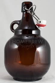 2L Palla Amber Growler Growler sold by Zenan USA