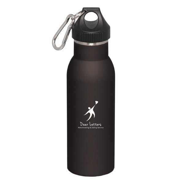 500 ML. (16 OZ.) DOUBLE WALLED STAINLESS STEEL BOTTLE Promotional water bottle sold by Luscan Group