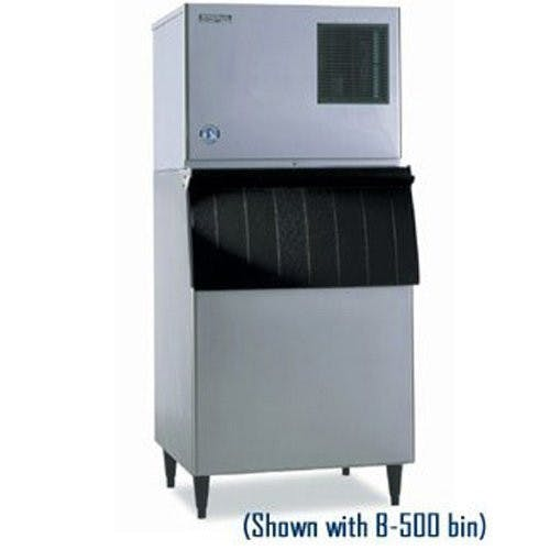 Hoshizaki KML250MAH-B250PF Low Profile Modular Cuber 307 Lb. with 230 Lb. Bin Ice machine sold by Mission Restaurant Supply