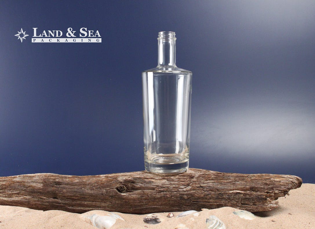 Ness Spirit Bottle Liquor bottle sold by Land & Sea Packaging