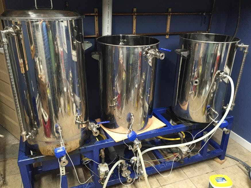 2 BBL Premium - Pilot Systems - 1BBL, 2BBL  gas fired and electric - sold by brewery Direct