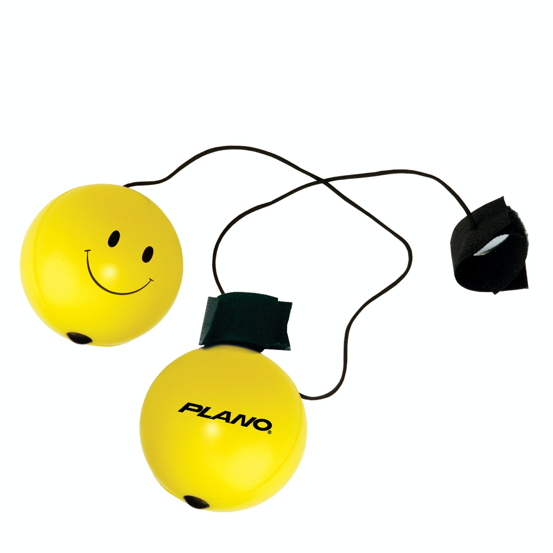 Smiley Face Bounce Back Stress Reliever Ball (Item # NCKNR-DAJYA) Stress ball sold by InkEasy