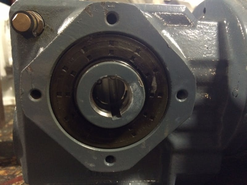 SEW-EURODRIVE SA37 Motor with Gearbox Ratio 8:1 (Used) - sold by Aevos Equipment