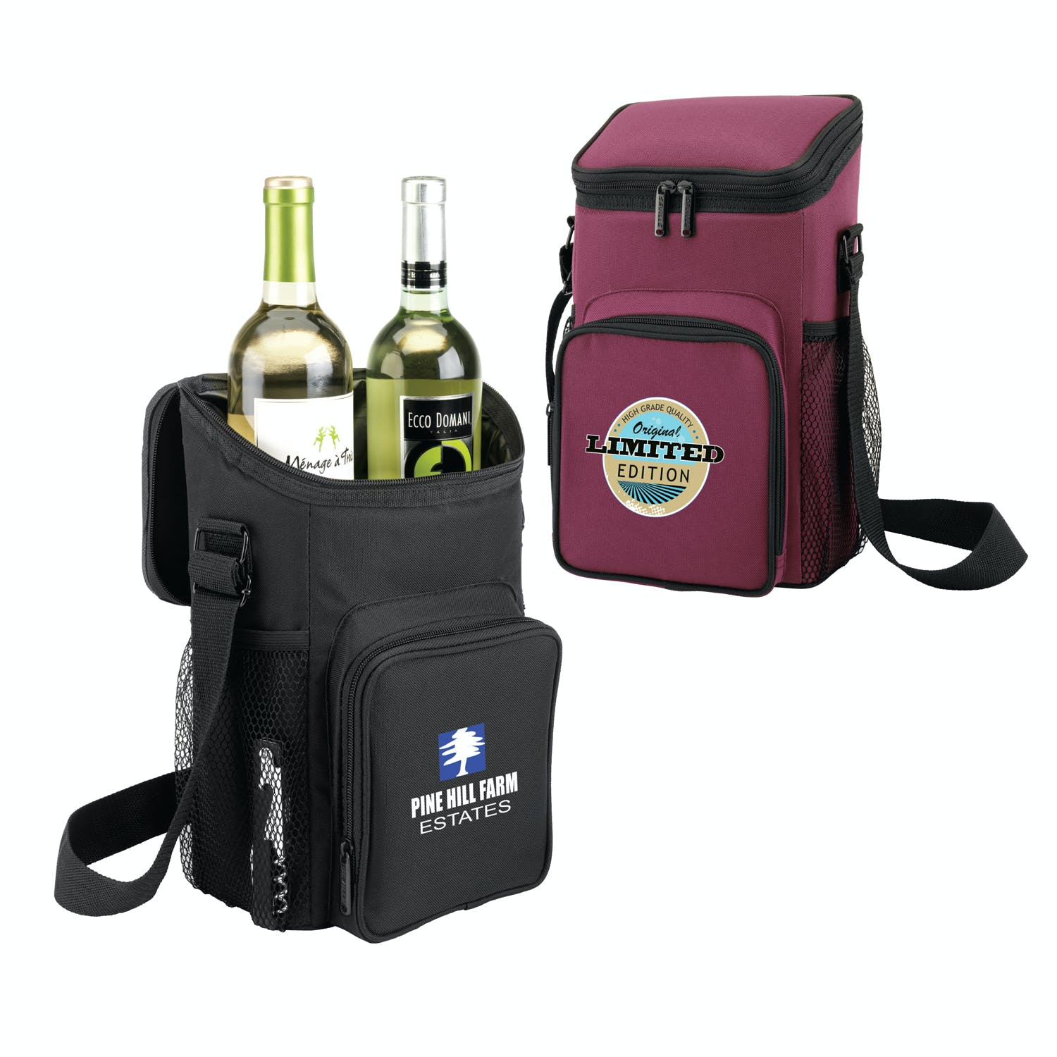 Wine Caddy (Item # WJJHU-IUEVV) Wine bag sold by InkEasy