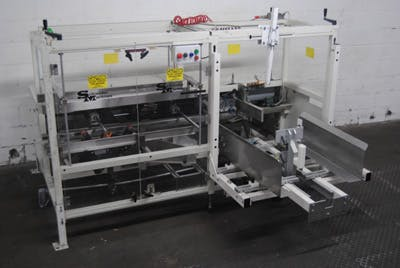 SCHROEDER MODEL 6000-PM AIR-OPERTATED AUTOMATIC CASE ERECTOR - sold by Union Standard Equipment Co