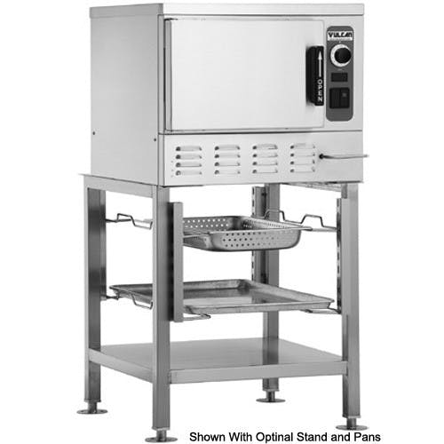 Vulcan C24EA3-BSC Convection Steamer, Countertop, 1 Compartment, 3 Pan Capacity, Electric Commercial steamer sold by Mission Restaurant Supply