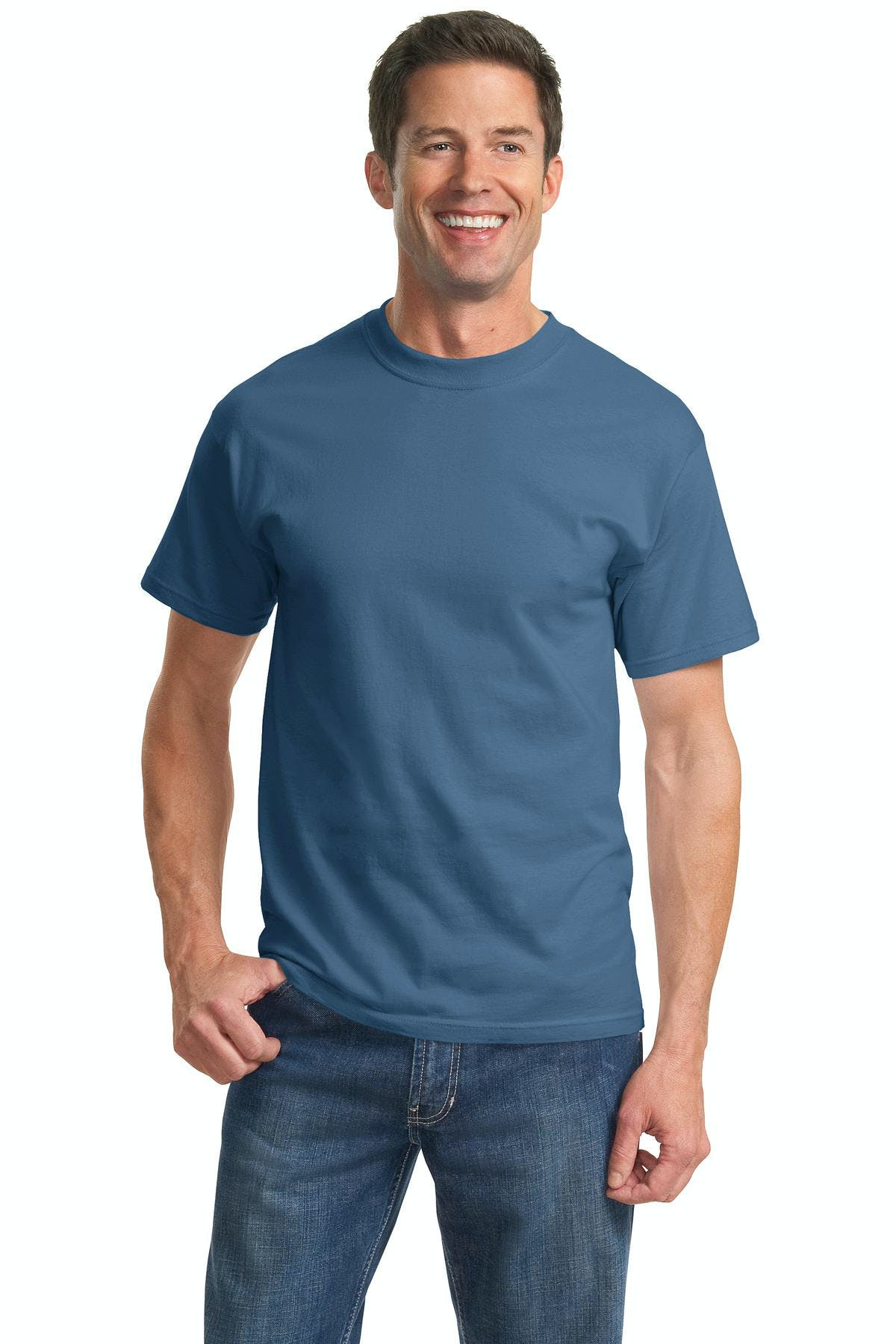 Port & Company® - Tall Essential Tee - sold by PRINT CITY GRAPHICS, INC