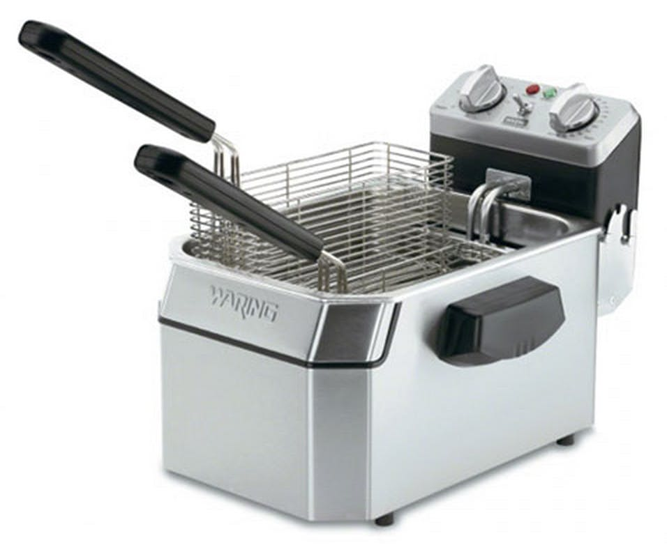 Waring (WDF1000B) - 10 lb. Heavy-Duty Countertop Fryer Commercial fryer sold by Food Service Warehouse