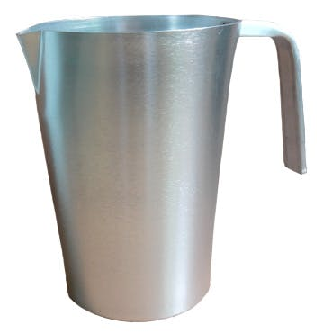 60 Oz. Aluminum Pitcher (Item # TGGKM-ITTZP) Beer pitcher sold by InkEasy