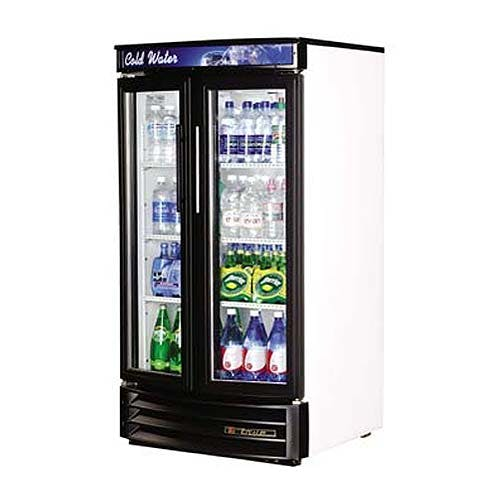 "True - GDM-14RF 31"" Radius Front Glass Door Merchandiser Refrigerator Commercial refrigerator sold by Food Service Warehouse"