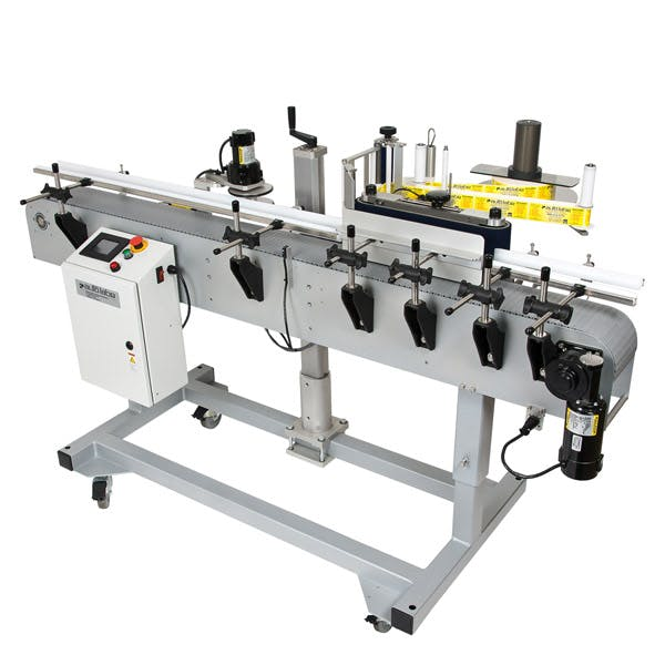 620 Automatic One Side or Round Product Labeling System Bottle labeler sold by MSM Packaging Solutions