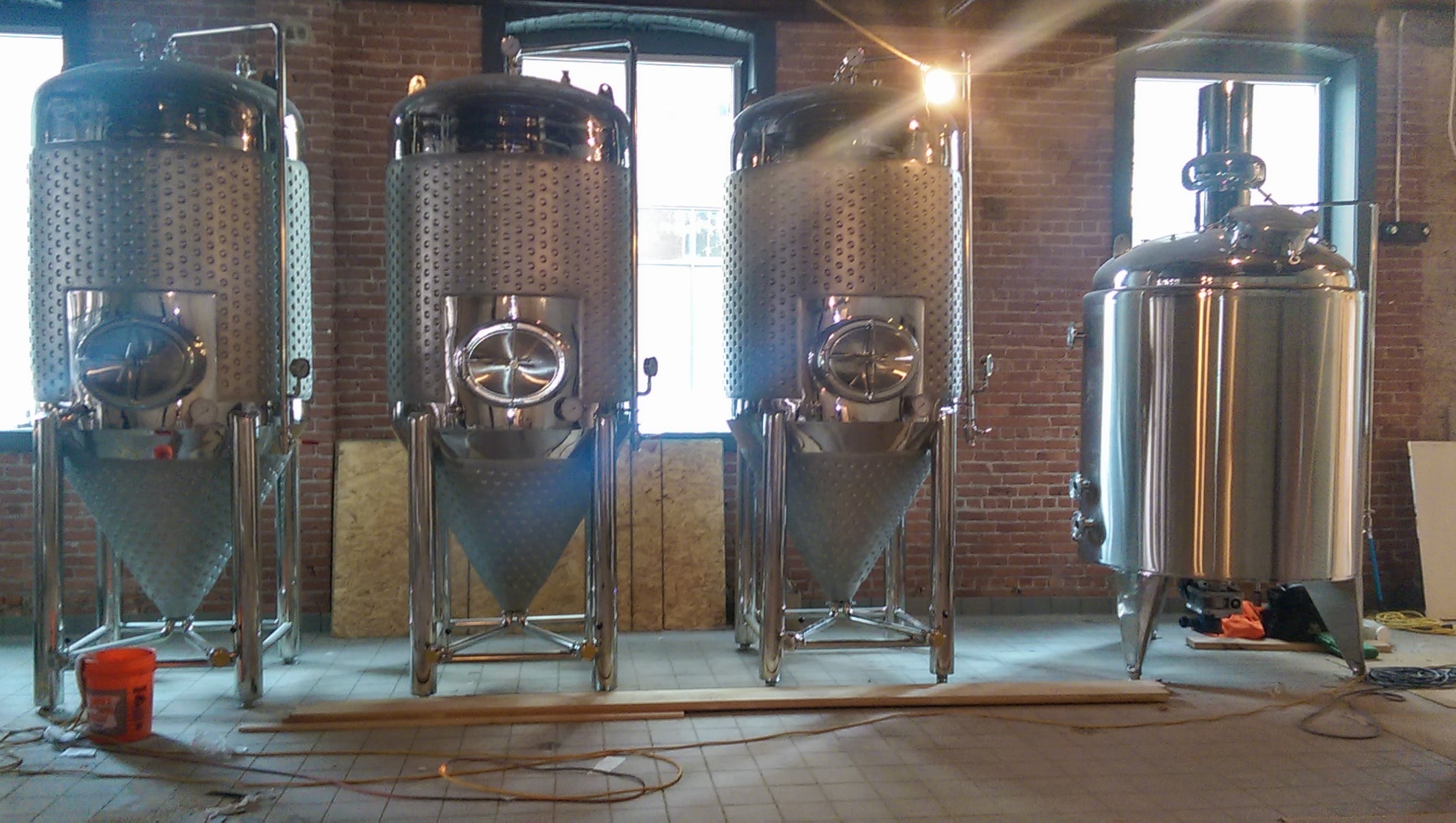 Conical Fermenters Fermenter sold by Artisan Still Design