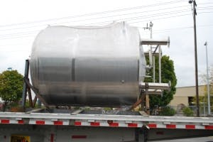 30 BBL Single Wall Tank - sold by Ager Tank & Equipment Co.