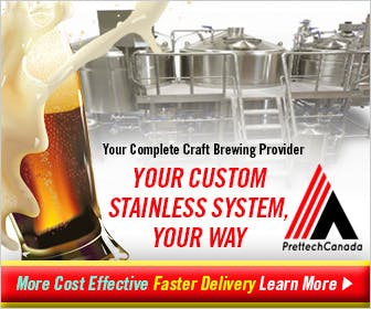 Unparalleled Lead Times Brewery tank sold by Prettech Canada