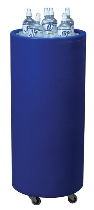 Tall skinny ice barrel, plastic - Outdoor Plastic Event Cooler - sold by TAP PRODUCTIONS & CREATIVE GROUP, INC. II