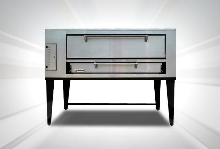 "Marsal SD-660 Gas Deck Oven (80"" wide) Pizza oven sold by pizzaovens.com"