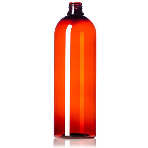 32oz Amber PET Bullet Growler Growler sold by Glass and Growlers
