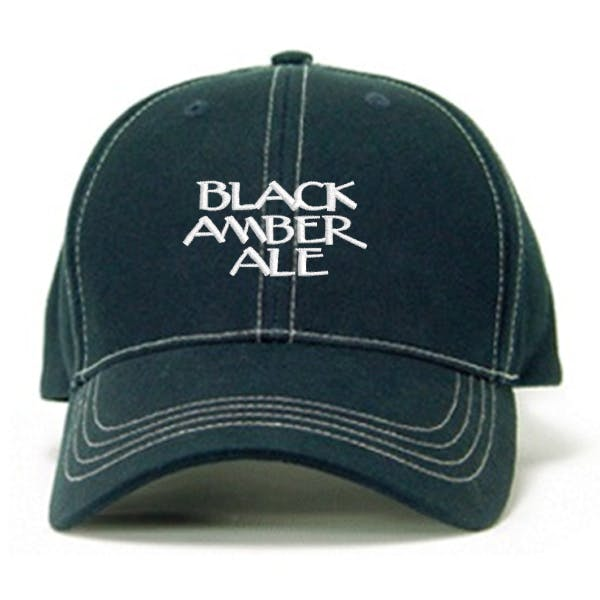 Contrasting Stitch Cap w/Brass Buckle Promotional cap sold by MicrobrewMarketing.com