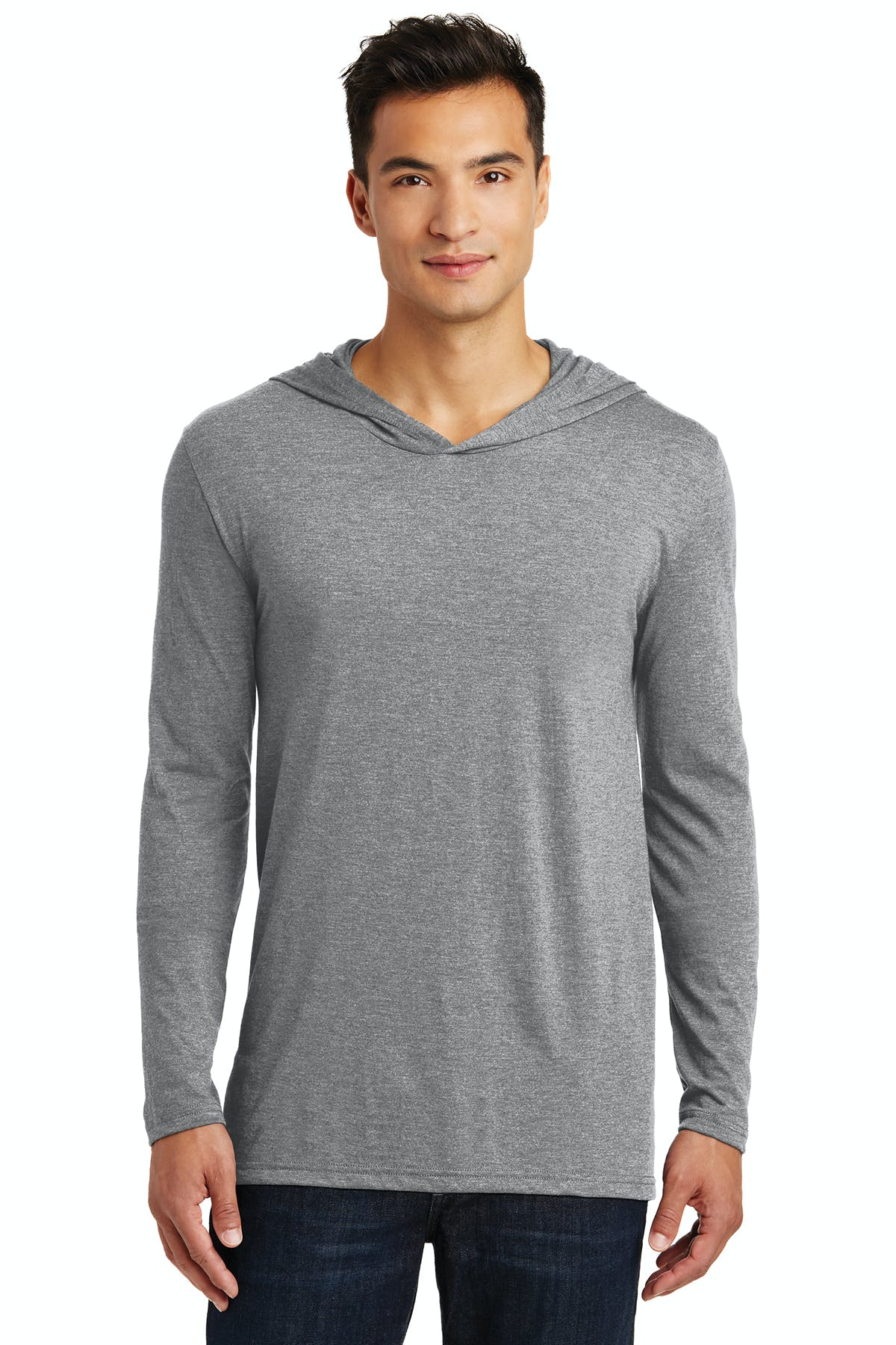 District Made® Mens Perfect Tri® Long Sleeve Hoodie