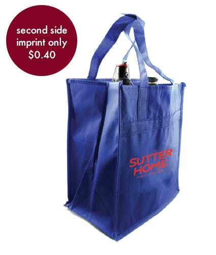 Beer & Wine Bag - 6 Count Promotional product sold by Prestige Glassware