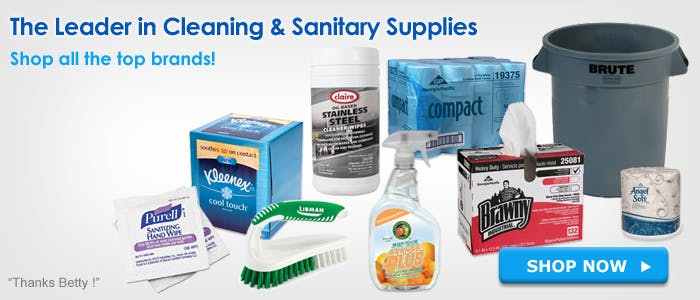 Cleaning Chemicals, Janitorial & Sanitary Maintenance Supplies. - sold by BettyMills.com
