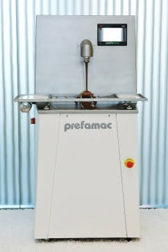 NEW PREFAMAC INSPIRE STAINLESS STEEL 15-KG CAPACITY MELTER Chocolate temperer sold by Union Standard Equipment Co