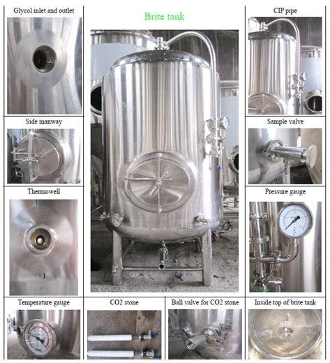 Brite Tank Fermenter sold by Brew Bev